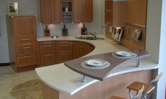 Thermoformed Kitchen